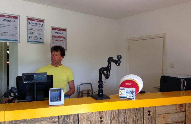 Discs for sale at desk Billybird
