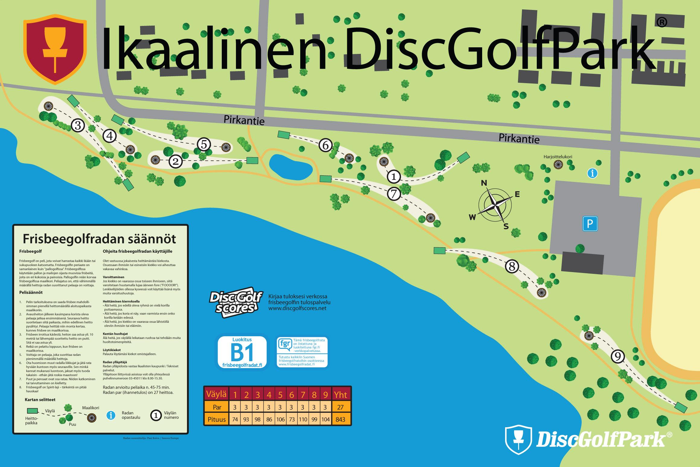 Ikaalinen Discgolfpark Discgolfpark