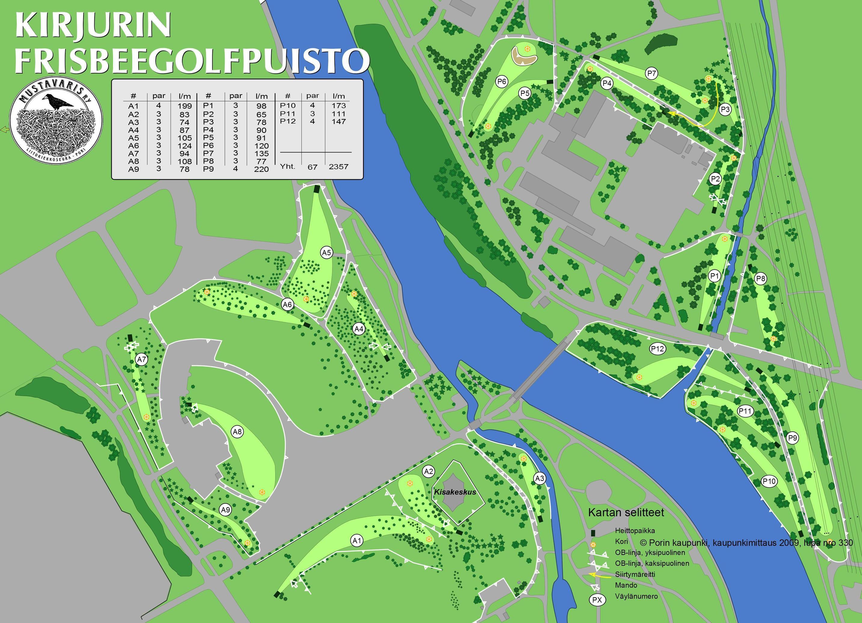 Kirjurinluodon Frisbeegolfpuisto Discgolfpark