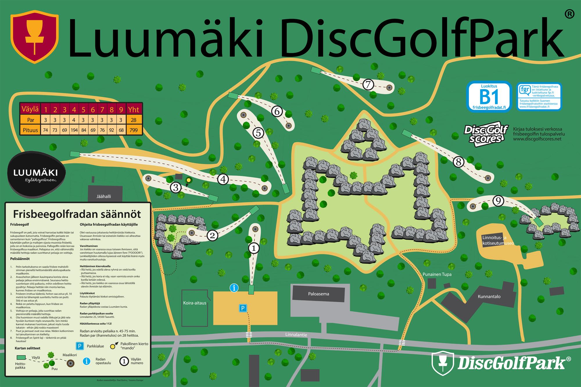 Luumaki Discgolfpark Discgolfpark