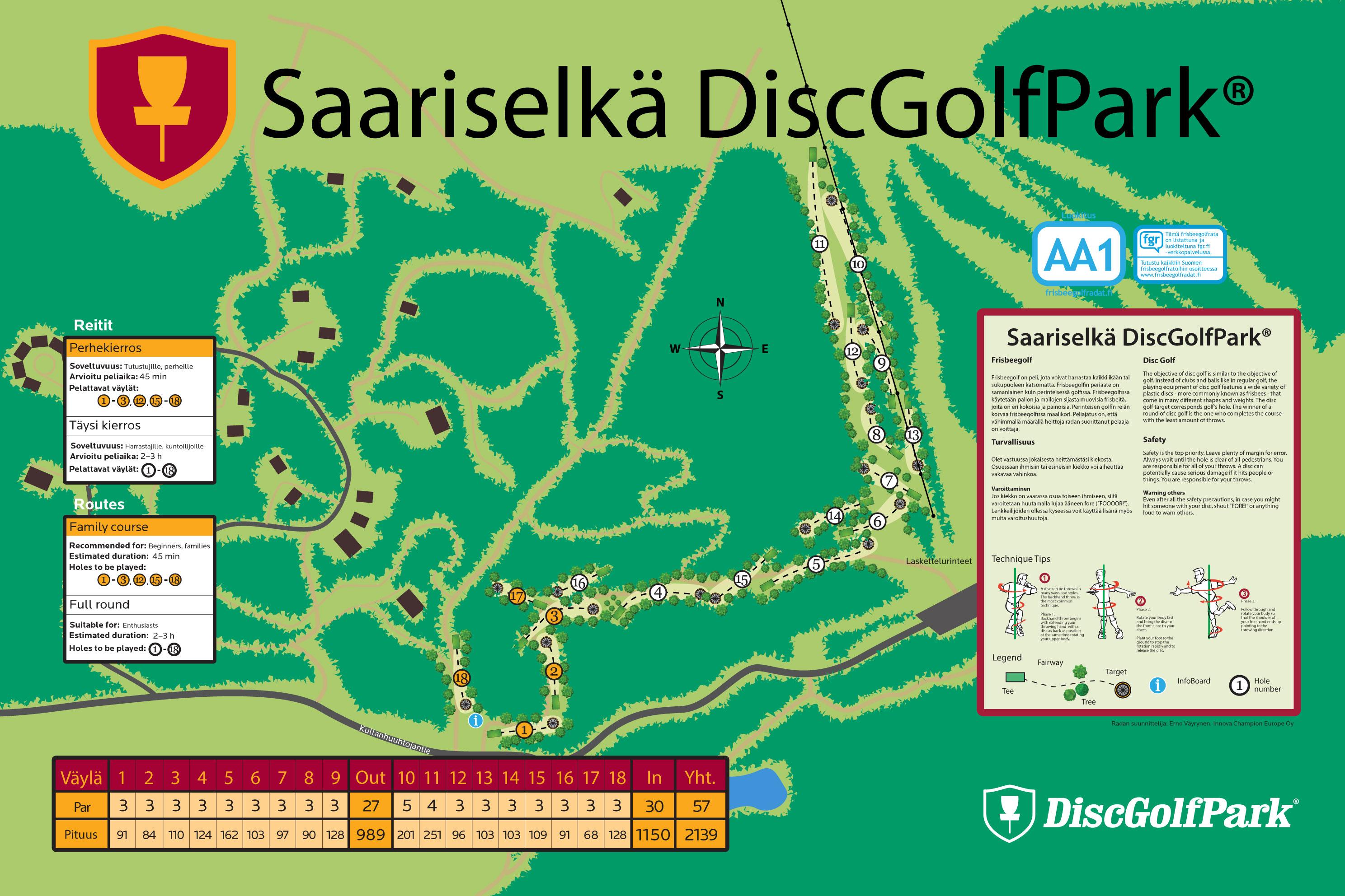Saariselka Discgolfpark Discgolfpark