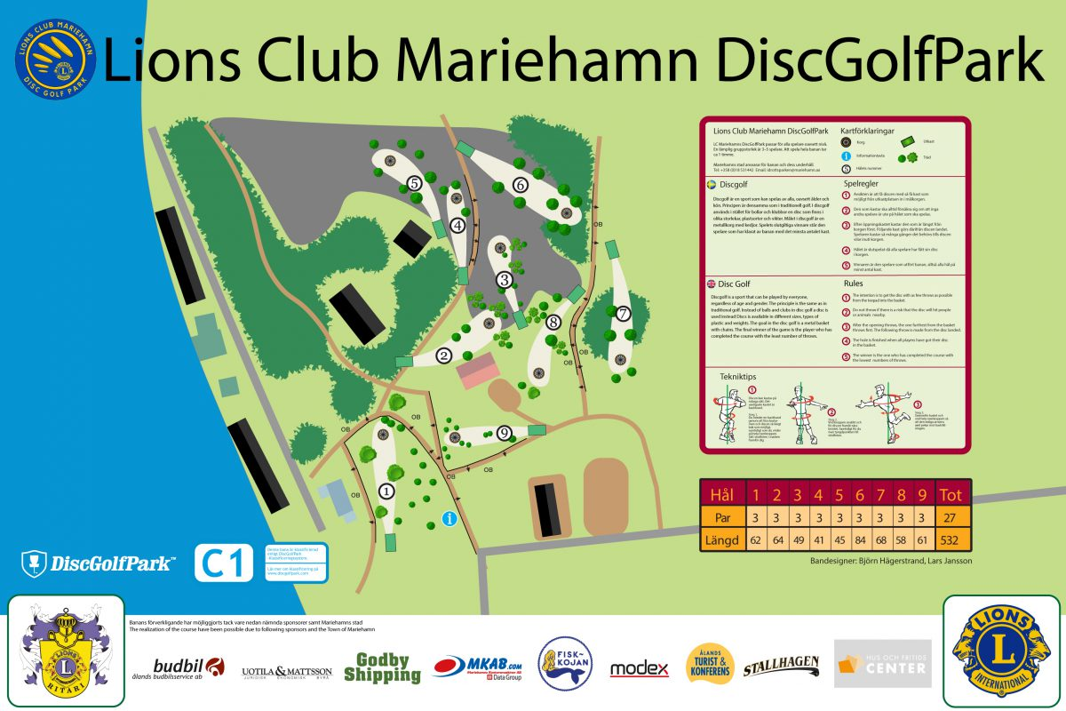 Mariehamn DiscGolfPark