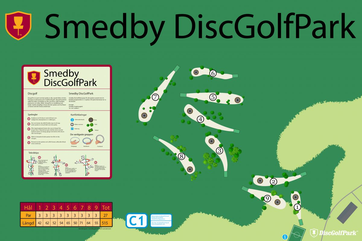 Smedby DiscGolfPark