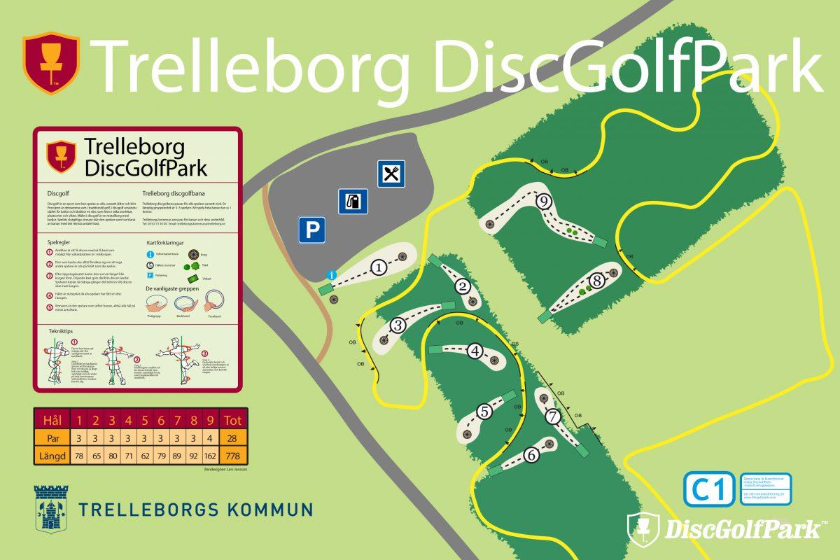 Trelleborg DiscGolfPark