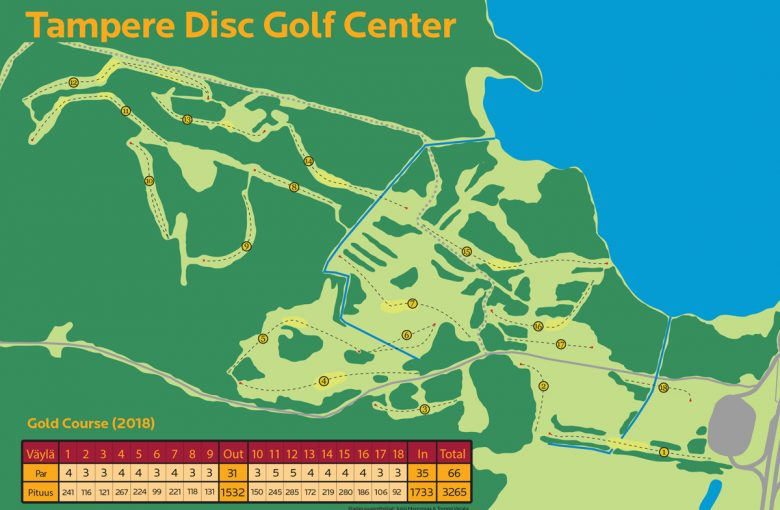 tampere_disc_golf_center_gold_course_map