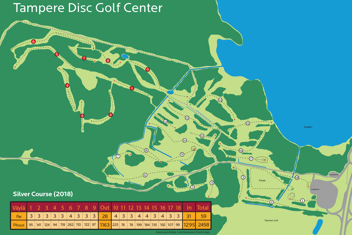 Tampere Disc Golf Center DiscGolfPark
