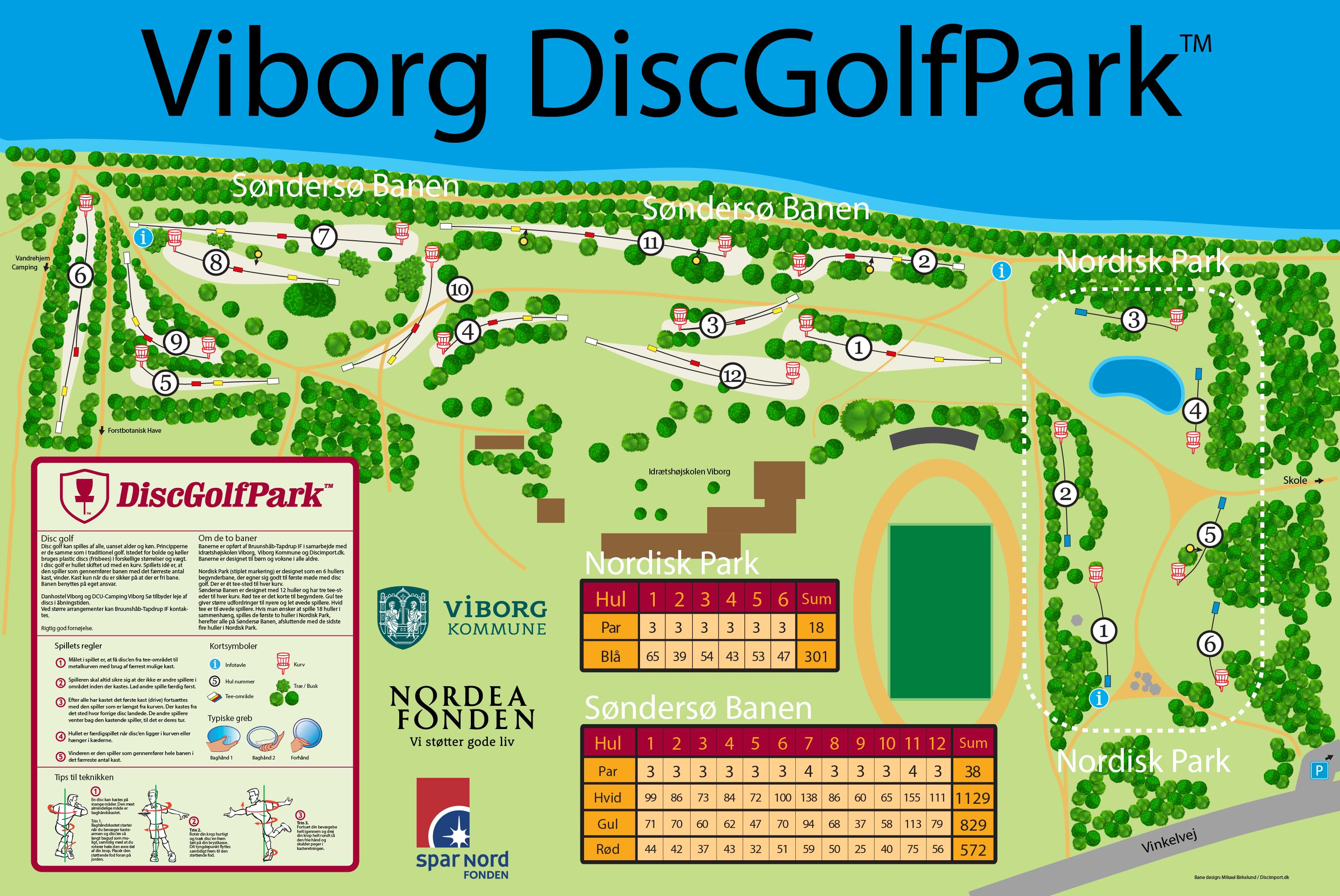 Viborg DiscGolfPark - DiscGolfPark