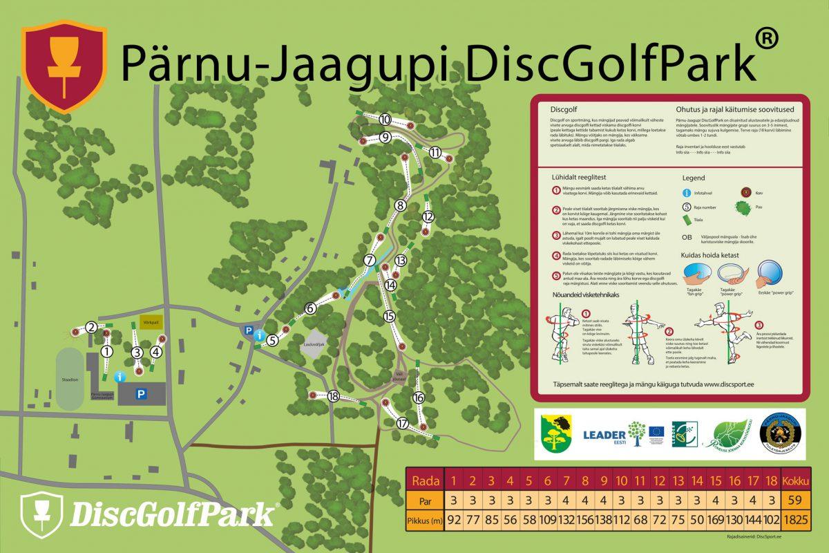 Pärnu-Jaagupi DiscGolfPark