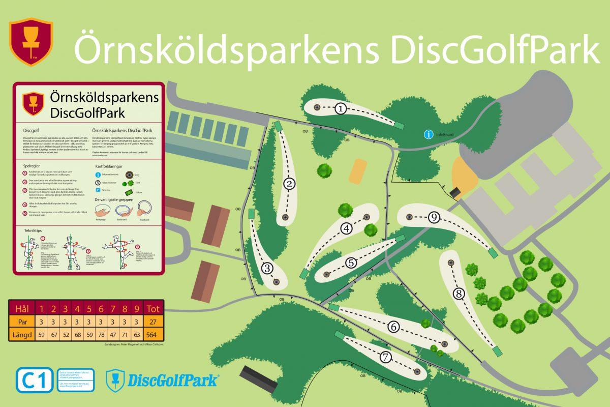 Örnsköldsparken DiscGolfPark