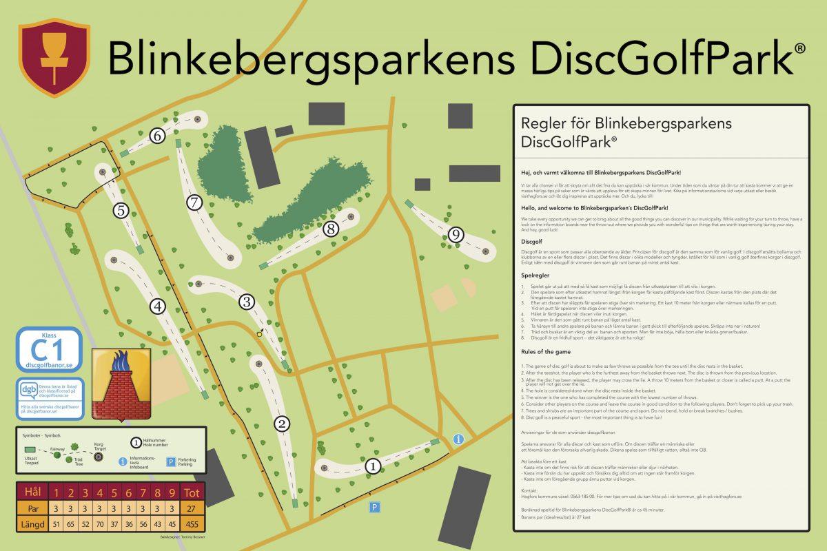 Blinkebergparkens DiscGolfPark