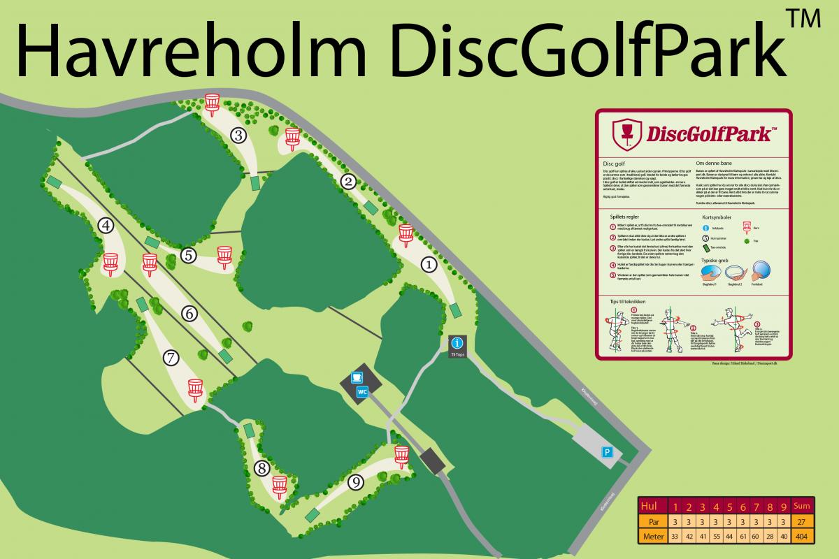Havreholm DiscGolfPark