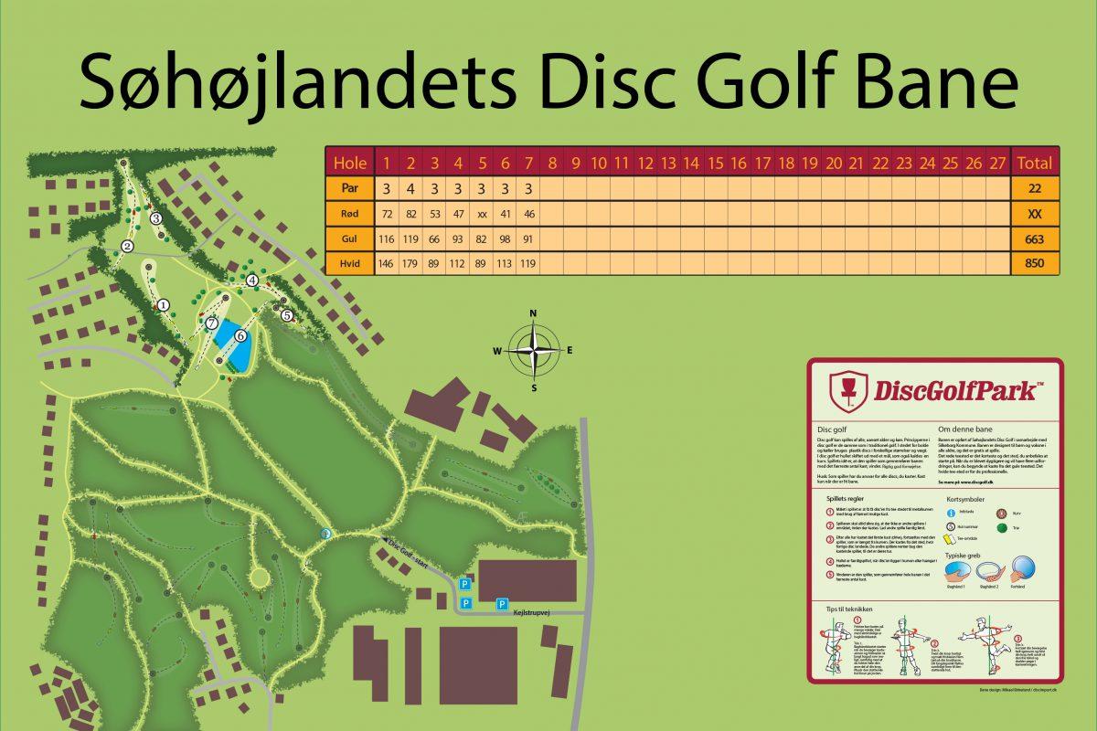 Søhøjlandets Disc Golf Bane