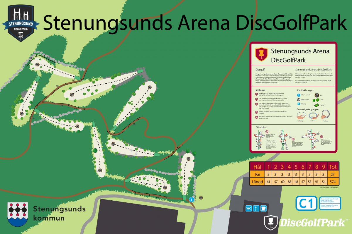 Stenungsunds Arena DiscGolfPark