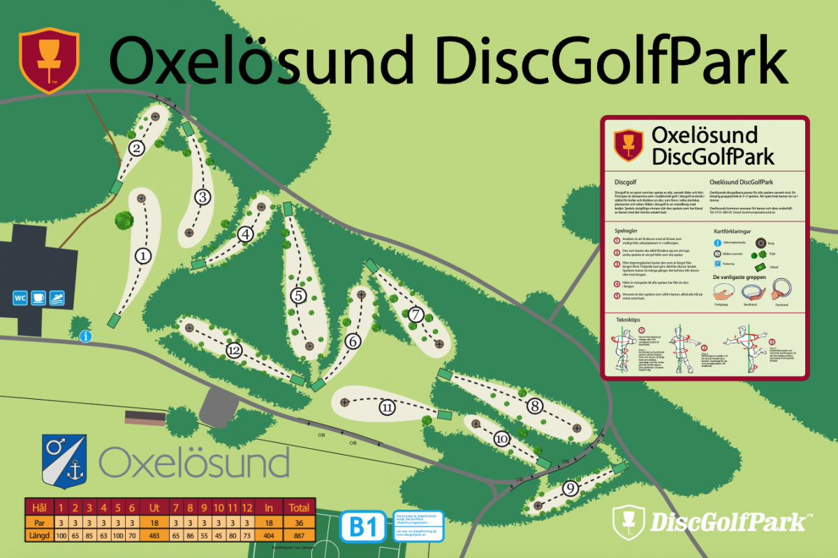 Oxelösunds DiscGolfPark