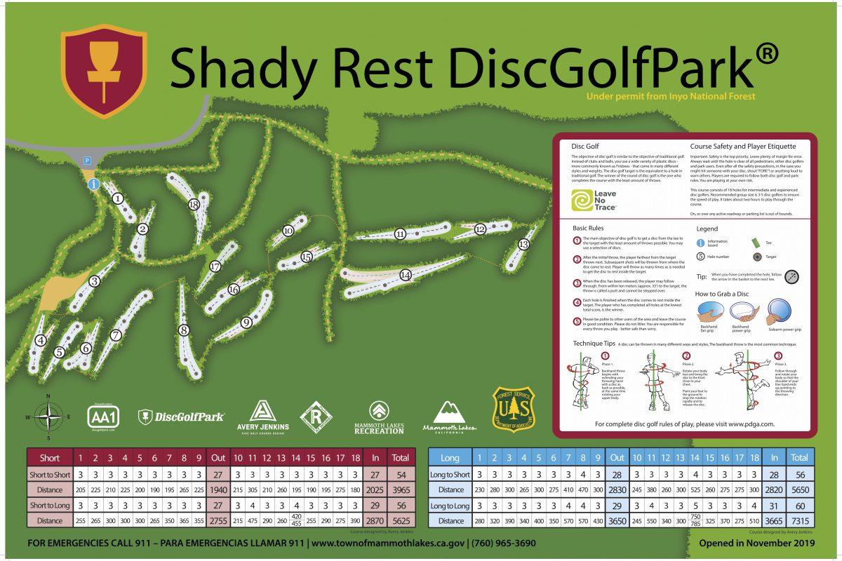 Shady Rest DiscGolfPark