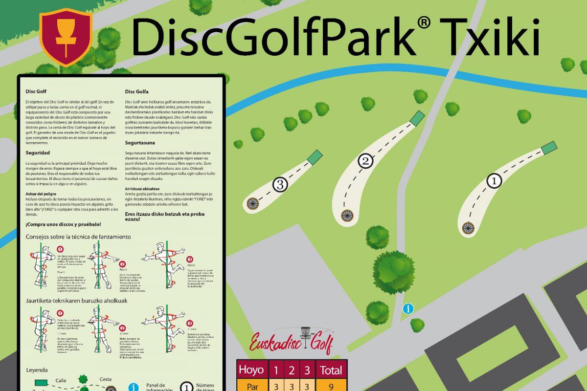 DiscGolfPark Txiki