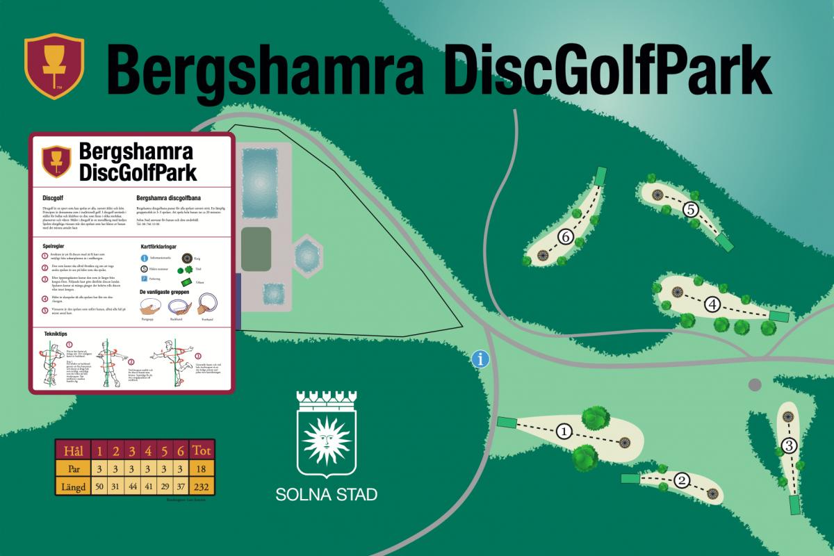 Bergshamra DiscGolfPark