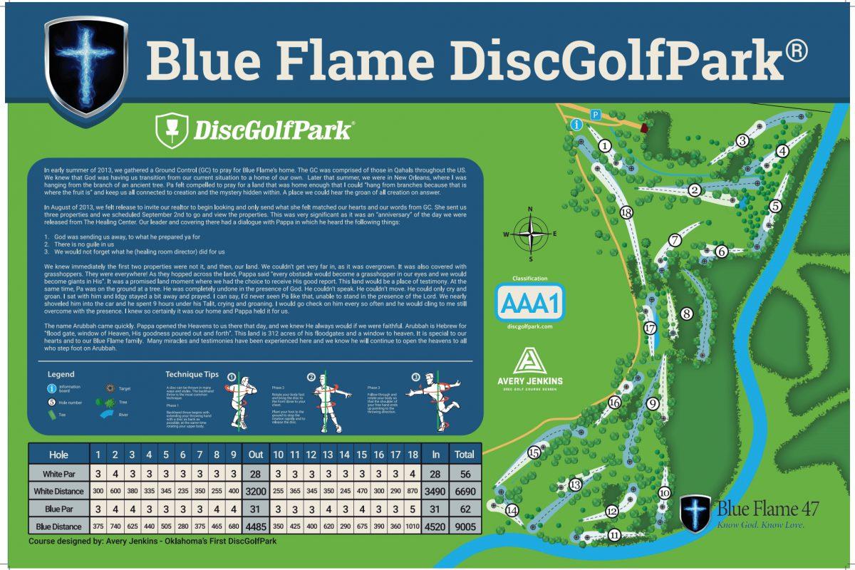 Blue Flame DiscGolfPark