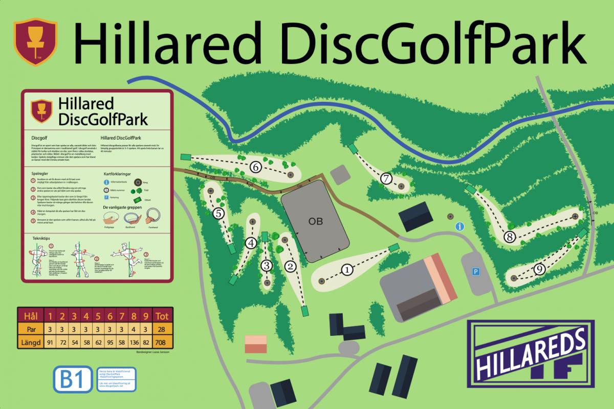 Hillared DiscGolfPark