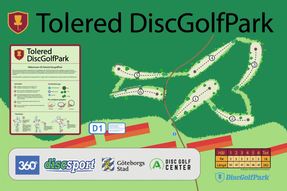 Tolered DiscGolfPark