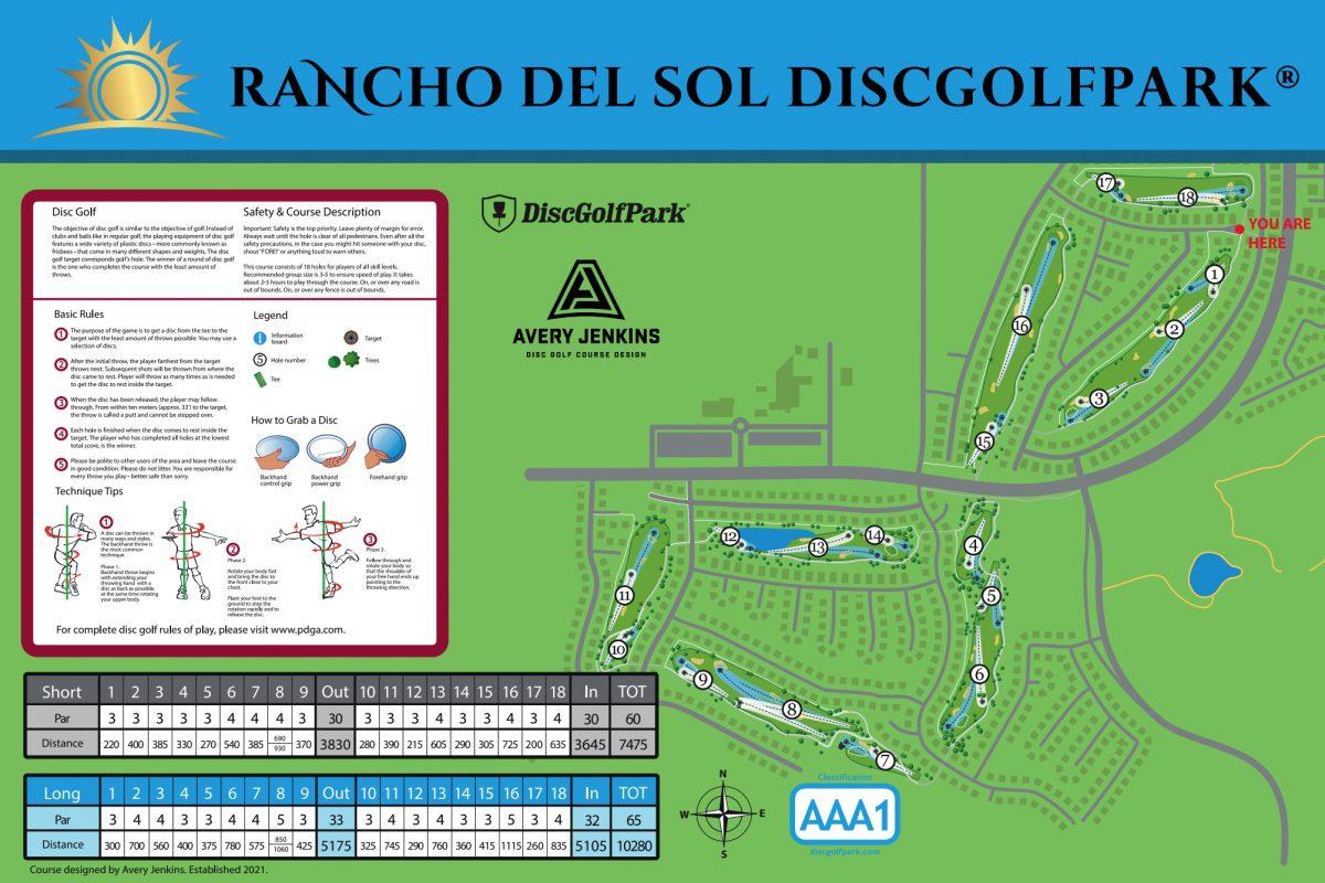 Rancho Del Sol DiscGolfPark