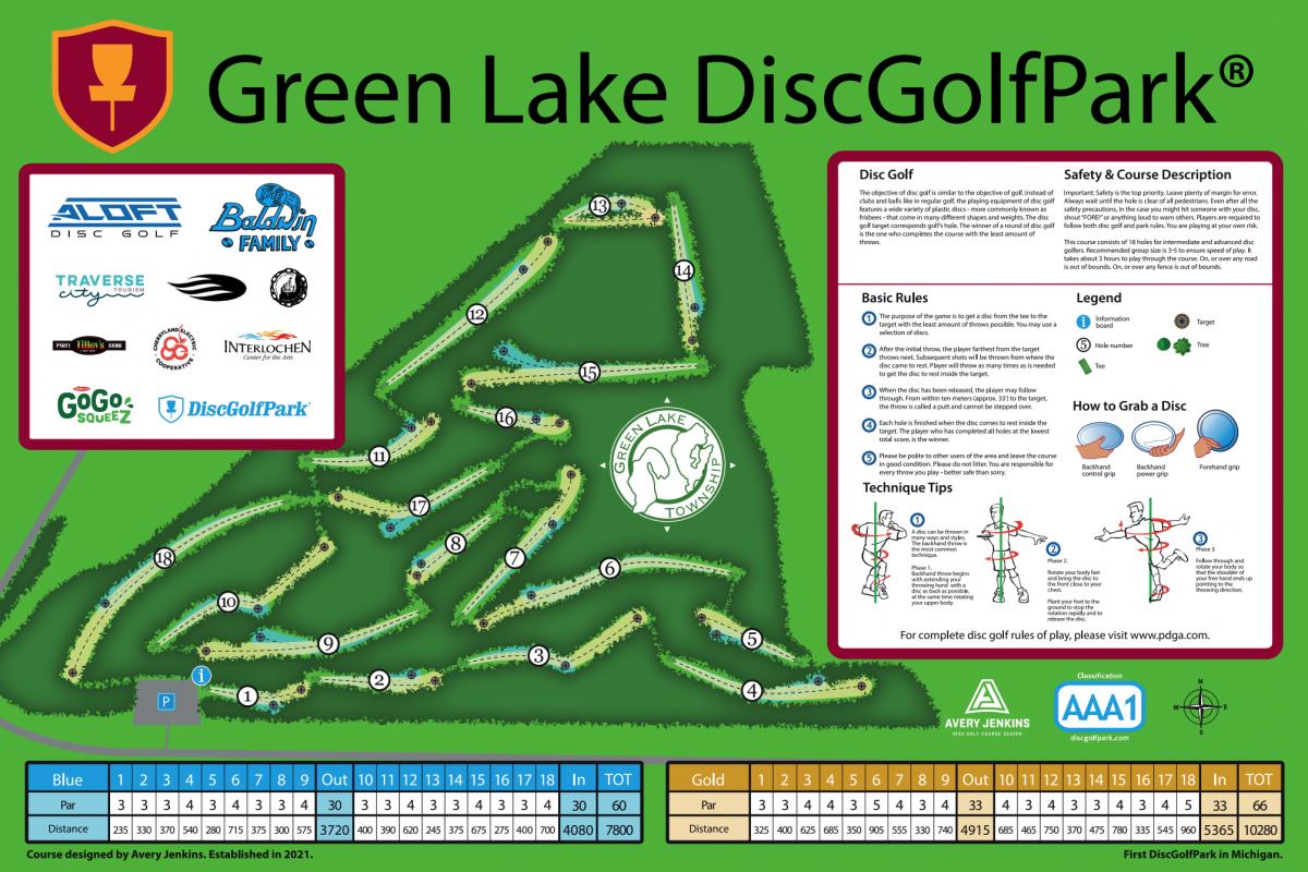 Green Lake DiscGolfPark