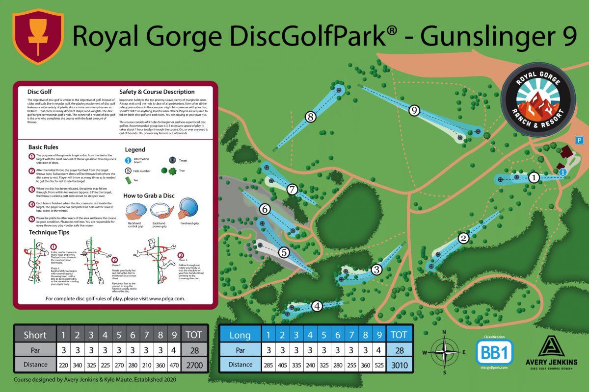 Royal Gorge DiscGolfPark – Gunslinger 9