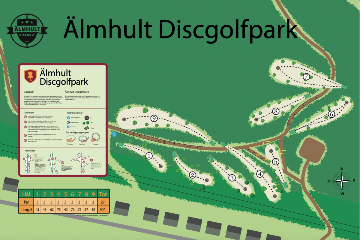 Älmhult DiscGolfPark