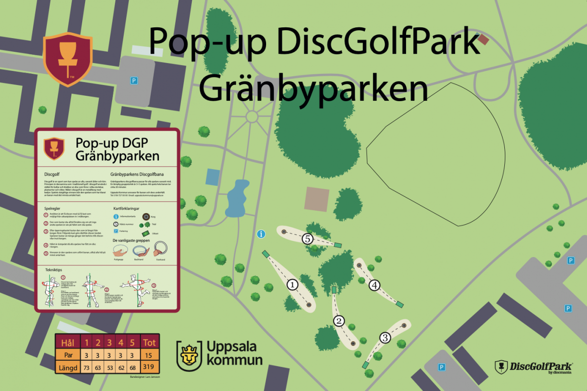 Gränbyparkens DiscGolfPark