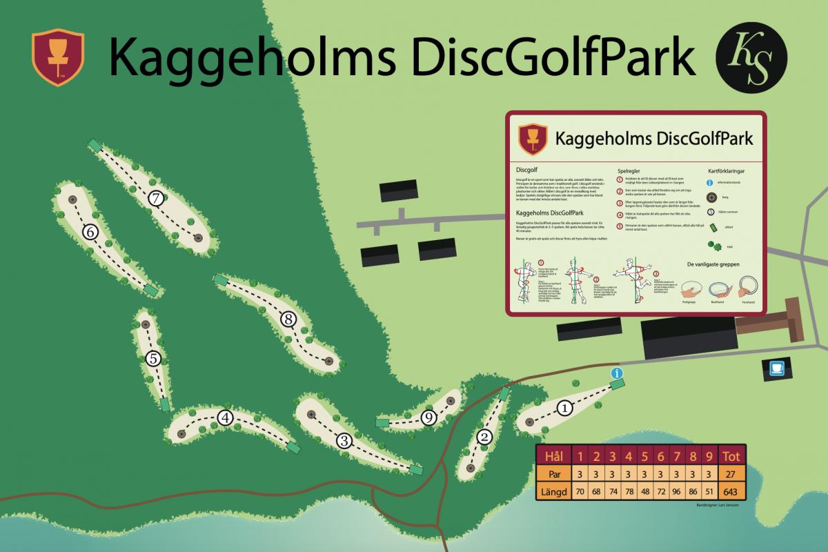Kaggeholms DiscGolfPark