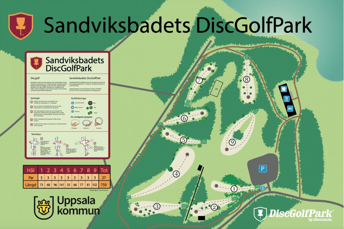 Sandviksbadets DiscGolfPark
