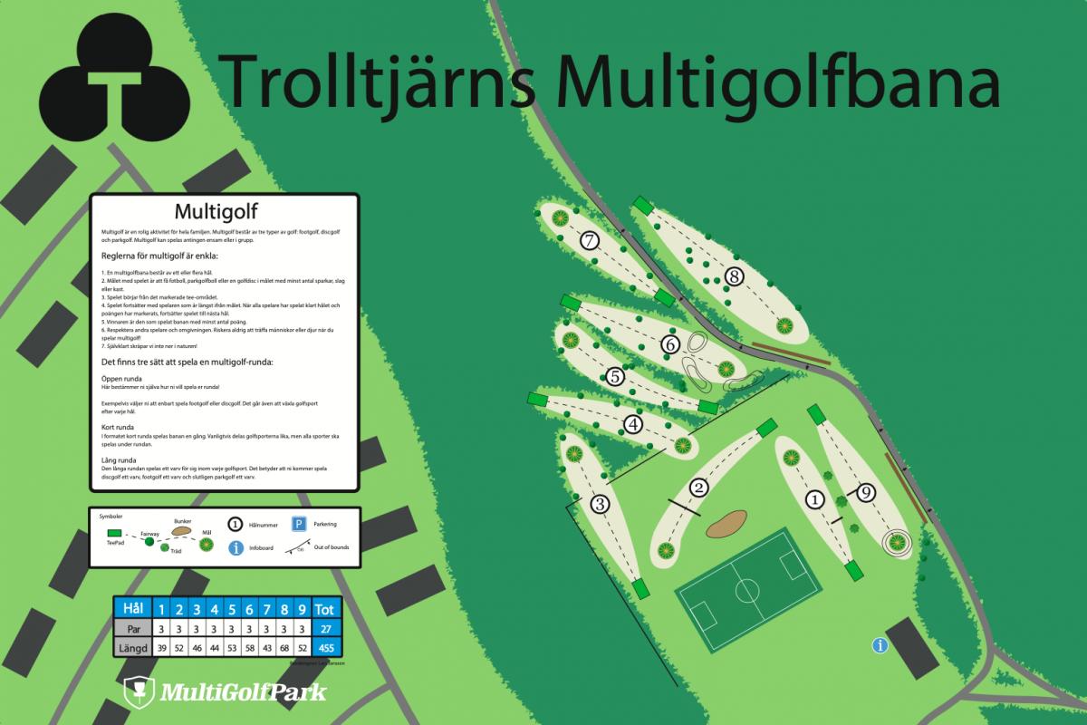 Trolltjärns Multigolfbana